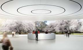 New apple office cupertino Donut Apple Apple Hq Render Laughing Squid New Images Of Apples Spaceshiplike Headquarters In Cupertino