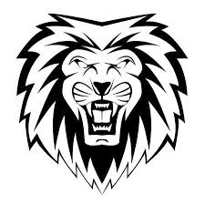 lion face black and white clipart. Contemporary Clipart Lion Face With Lion Face Black And White Clipart O