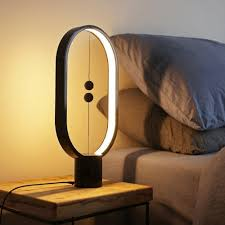 Heng Balance Lamp Magnetic Led Float Decoration Indoor Wood Unique