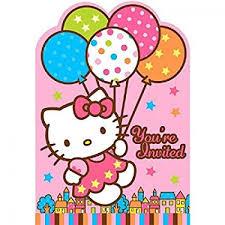 Hello Kitty Party Invitation Sanrio Hello Kitty Party Invitation No 499303