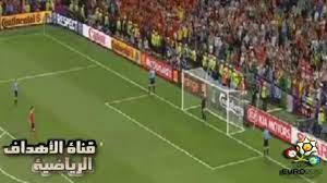 اسبانيا 4 - 2 البرتغال   ركلات الترجيح يورو 2012 - YouTube