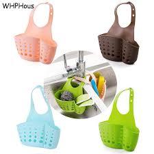 <b>1 PCS Portable 4 Colors</b> Kitchen Sink Shelving Bag Dish Cloths ...