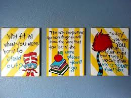 wall ideas dr seuss wall art photo design decor image 20 of 20