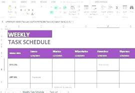 Class Schedule Template Online Classroom Schedule Template Blank Weekly Class Daily Agenda College