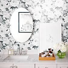 bathroom wallpaper. Bathroom Wallpaper: 4 Looks We Love Wallpaper