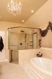 Spa Bathrooms - Bathroom with jacuzzi and shower