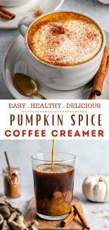It's full of warm spices and real pumpkin—and 97% fewer calories than regular creamer! Dairy Free Pumpkin Spice Creamer Kim S Cravings