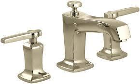 KOHLER K 4 CP Margaux Widespread Lavatory Faucet Polished