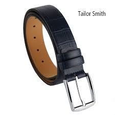 Mens Blue Designer Belts Tailor Smith Designer Leather Belt Mens Luxury High Quality