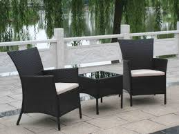 black wicker patio furniture canada amazing of table dining sets chairs black plastic wicker rockers