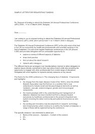 Cover Letter Sponsorship Sponsorship Request Cover Letter Template