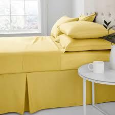 ochre sheets pillowcases