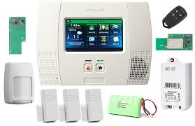 com honeywell wireless lynx touch l5200 home automation security alarm kit with wifi and zwave module photo