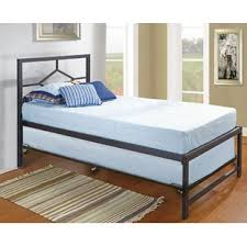 twin platform bed with trundle. Contemporary With Holbrook Twin Platform Bed With Pop Up Trundle Inside With T