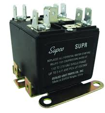 supco supr universal potential relay single phase 110 270 supco supr universal potential relay single phase 110 270 operating voltage 30 a load current electronic relays amazon com industrial scientific
