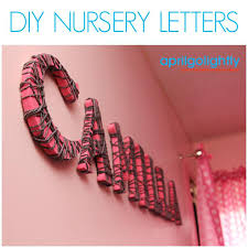 nursery decor wall art with wooden letters pink matalan