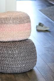 Floor Pillows And Poufs Best 25 Crochet Floor Cushion Ideas On Pinterest Diy Crochet