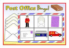 Office Bingo Post Office Bingo Sb6466 Sparklebox