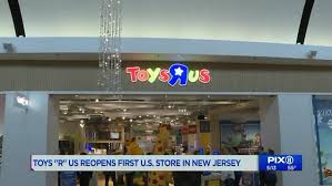 Toys R Us Returns To The Us With New Store In Nj Mall