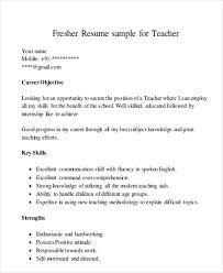 10 Teaching Resume Templates Pdf Doc Free Premium