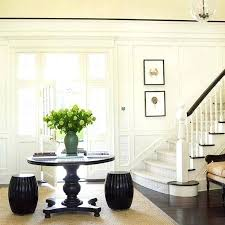 round entry table decorating