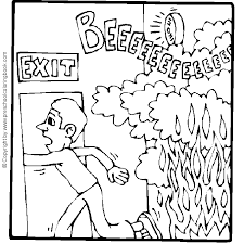 Small Picture kitchen fire safety coloring pages Syougitcom