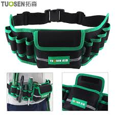 <b>Multifunction Durable Canvas</b> Tool Bag with 8 Holes 1 Pocket ...