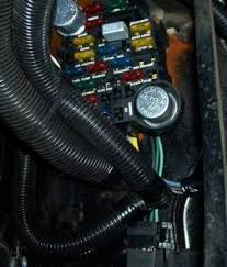 ez wiring installation once you have the fuse block installed and the wires run to the engine compartment you can begin attaching the split loom to the body and routing the wires