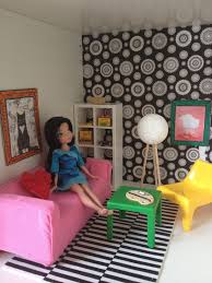 ikea doll furniture. Dollhouse Living Room- With IKEA Furniture And DIY Pieces! Ikea Doll 0