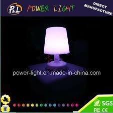 China Wireless Rechargeable Decorative Rgb Led Lamp China