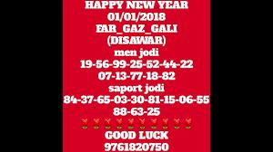 46 Veritable Desawar Satta Bazar Chart 2019