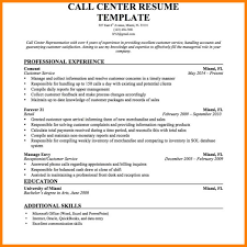 Call Center Representative Resume Sample 24 Call Center Representative Resume Cashier Resumes 12