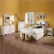 kid bedroom set. kids full wood bookcase bed 4 piece bedroom set in white wash kid