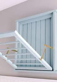 diy wall mounted drying rack free plans