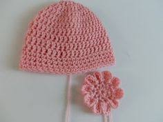 Free Crochet Patterns For Baby Hats Beauteous SLK Baby Hat free crochet pattern These are great to make to donate