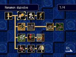 Ian Multimedia Digivolution Guide Digimon World 3 Psx