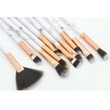 details about 10pcs makeup brushes set marble pattern powder blush eyeshadow cosmetic tool uk