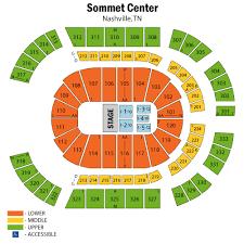 Bedenges Design Bridgestone Arena Seating Chart