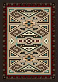 native american area rugs themed wool large