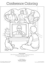 Small Picture A Happy Family At The San Diego Temple Primary Coloring Page