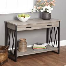 better homes and gardens traditional 2 drawer console table multiple colors com