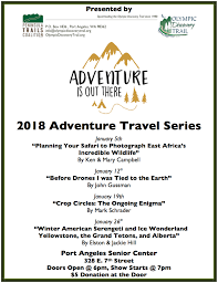 Travel Schedule 2018 Adventure Travel Series Schedule The Pathway To The Pacific
