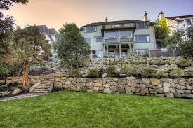 boulder retaining wall design eye