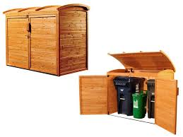 trash can shed plans garbage storage outdoor trash bin storage outdoor garbage can covers trash container