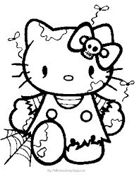 Small Picture HELLO KITTY COLORING HELLO KITTY HALLOWEEN COLORING Hello Kitty