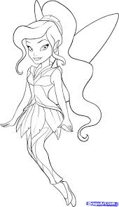 Fairy Coloring Pages With Vidia - creativemove.me