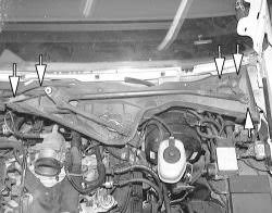 replace wiper motor 99 grand marquis fixya remove the wiper module assembly retaining bolts and remove the module from the vehicle