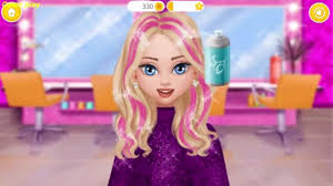 fun care hair salon dress up makeup kids games superstar fashion awards