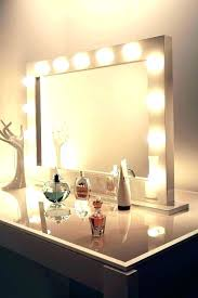 large tabletop vanity mirrors lovely table top mirror with lights for lighted big makeup brilliant vanit