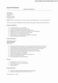... Surgical Tech Resume Sample Unique astonishing Surgical Technologist  Resume 9 Nice Design Surgical ...